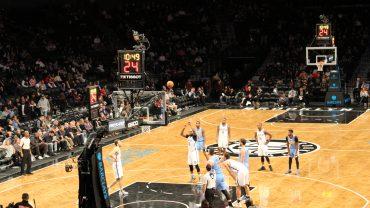 Trevor Booker Shooting Free Throw Nets vs Nuggets 12/7/16