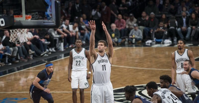 Brook Lopez - Brooklyn Nets vs Dallas Mavericks 3/19/17