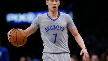 Jeremy Lin Blue Uniform