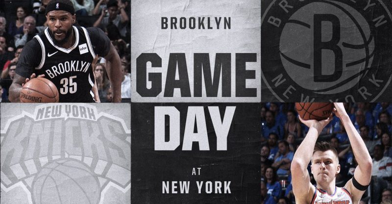 Nets vs Knicks 10/27/17