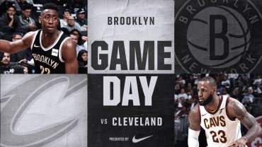 Nets vs Cavs 10/25/17