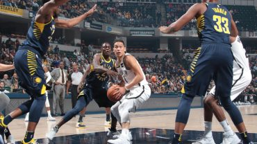 Nets vs Pacers Jeremy Lin
