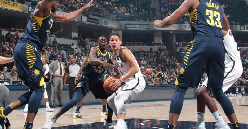 Nets vs Pacers Jeremy Lin