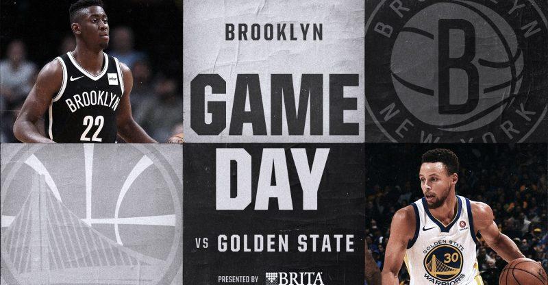 Nets vs GSW 11-19-17