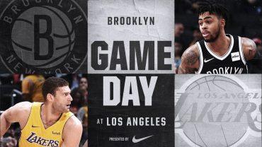 Nets Vs Lakers 11/3/17