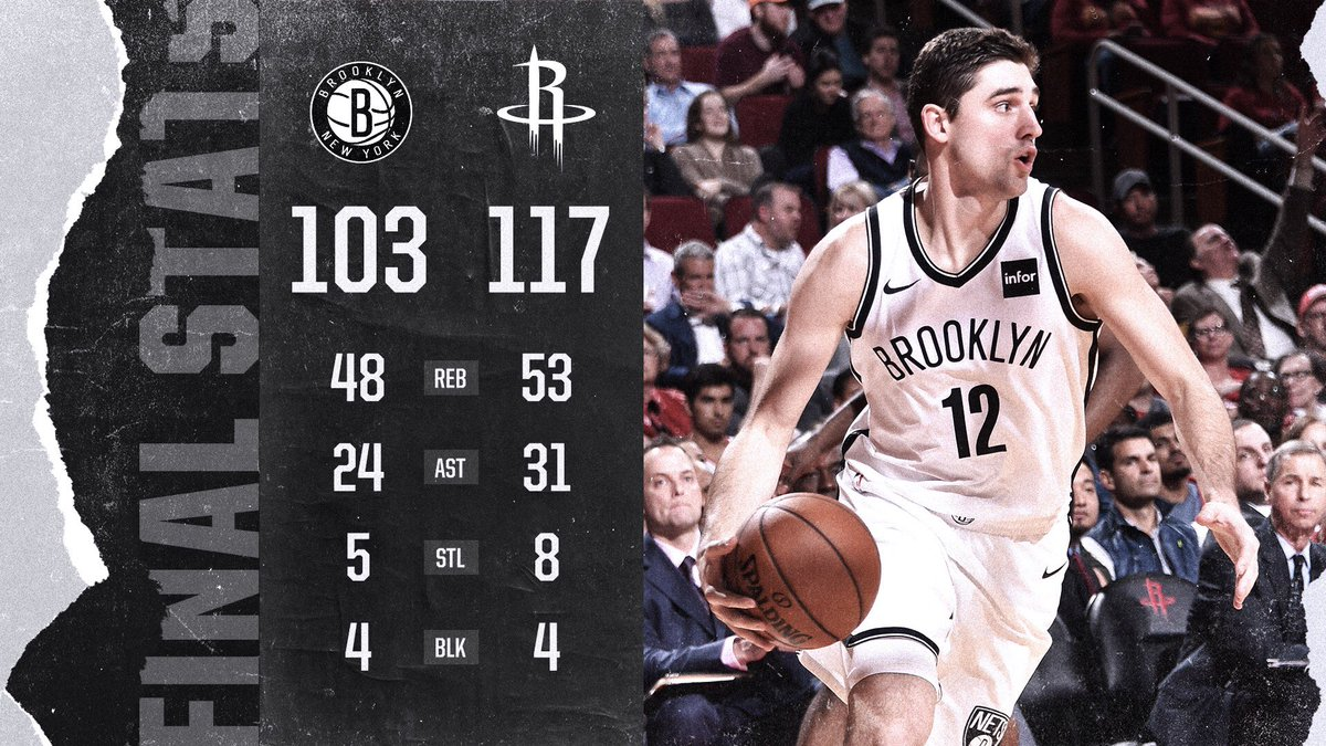 Nets at Rockets 11-27-17 By The Numbers
