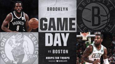 Nets vs Celtics 11-14-17
