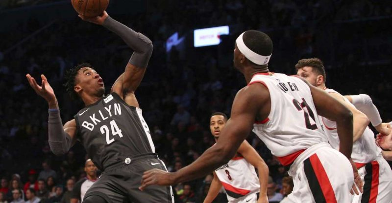 Nets vs Blazers