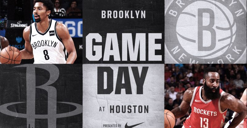 Nets at Rockets 11-27-17 Graphic