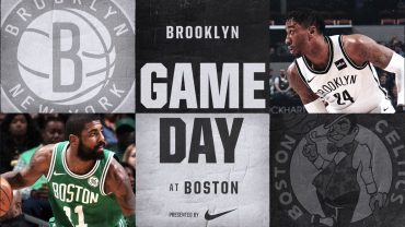 Nets at Celtics 12-31-17 Graphic