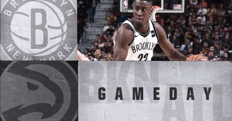 Nets at Hawks 12-4-17 Graphic