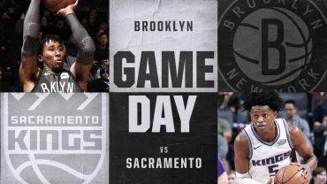 Nets vs Kings 12-20-17 Graphic