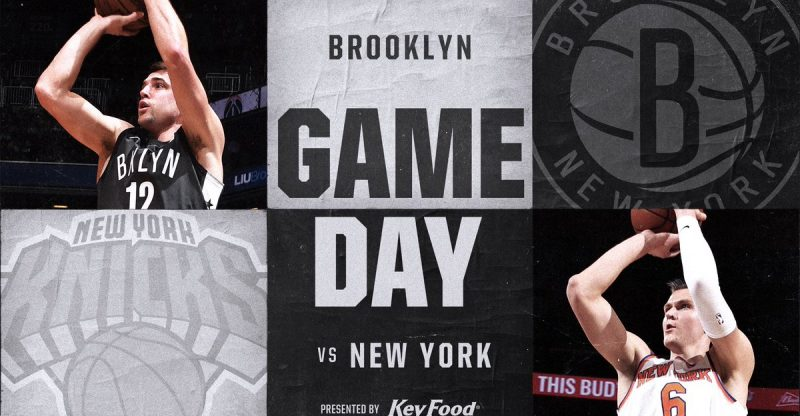 Nets vs Knicks 12-14-17 Graphic
