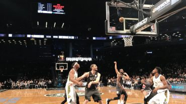 Nets vs Pacers 12-17-17 Pic