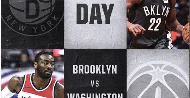 Nets vs Wizards 12-22-17 Graphic