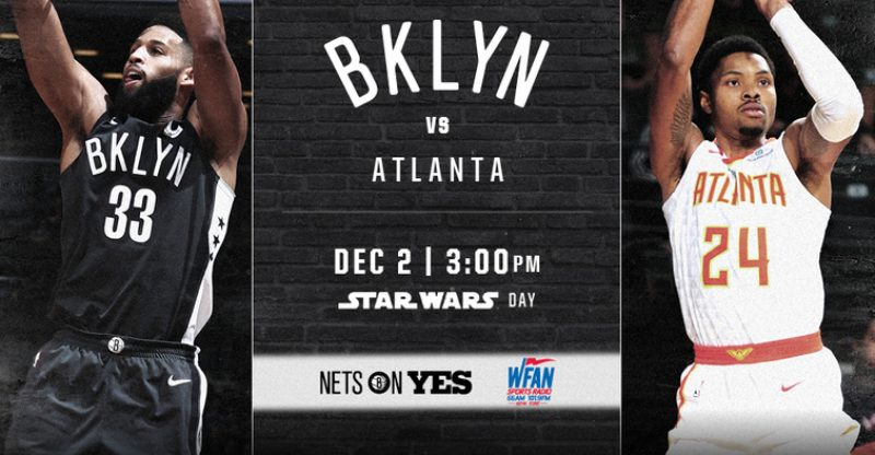 Nets vs Hawks 12-2-17 Graphic