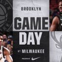 Brooklyn Nets at Milwaukee Bucks 1-26-18 Graphic