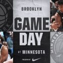 Brooklyn Nets at Minnesota Timberwolves 1-27-18 Graphic