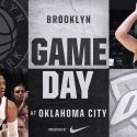 Brooklyn Nets at Oklahoma City Thunder 1-23-18 Graphic