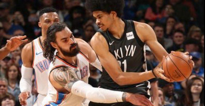 Brooklyn Nets at Oklahoma City Thunder feature image post game1-23-18.JPG