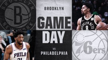 Brooklyn Nets vs. Philadelphia 76ers 1-31-18 Graphic
