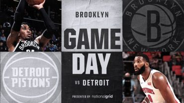 Nets vs Pistons 1-10-18 Graphic