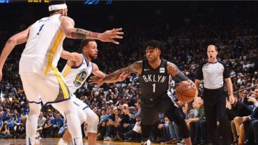 Brooklyn Nets at Golden State Warriors feature post game 3-6-18.JPG