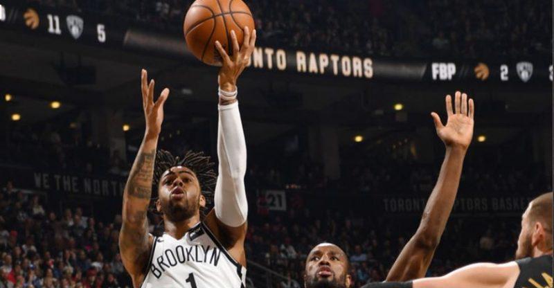 Brooklyn Nets at Toronto Raptors post game 3.23.18.JPG